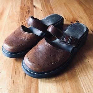 Dr Martens Mary Jane Slip On Sandals Women's 9